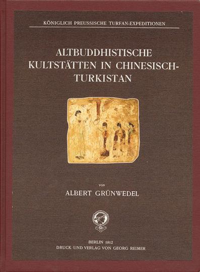 Altbuddhistische Kultstätten in Chinesisch-Turkistan.