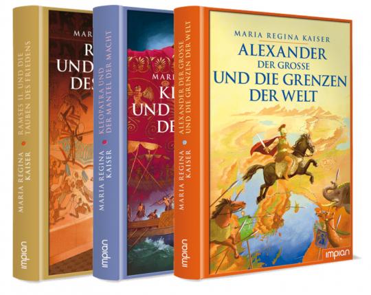 Altertum für Jugendliche. 3 Bände im Paket.