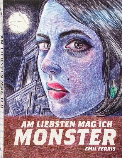Am liebsten mag ich Monster. Graphic Novel.