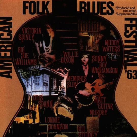American Folk Blues Festival 1963. CD.