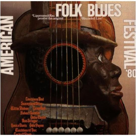 American Folk Blues Festival 1980. CD.