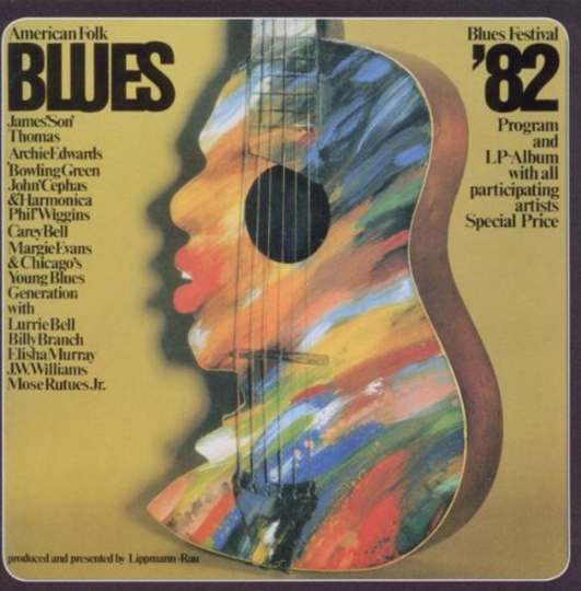American Folk Blues Festival 1982 (remastered). CD.
