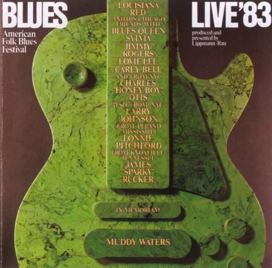 American Folk Blues Festival 1983. CD.