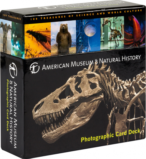 American Museum of Natural History Card Deck. 100 Treasures from the Hall of Science and World Culture.