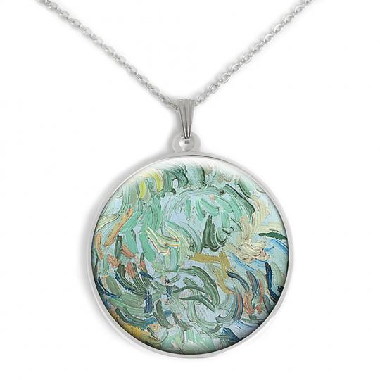Amulett Van Gogh Motiv »Weizenfeld«.