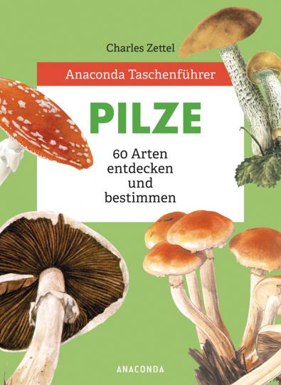 Anaconda Taschenführer Pilze. 60 Arten entdecken und bestimmen.
