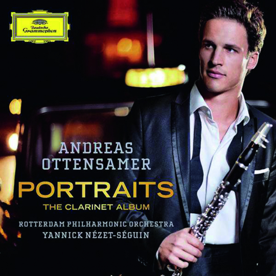 Andreas Ottensamer. Portraits, the Clarinet Album. CD.