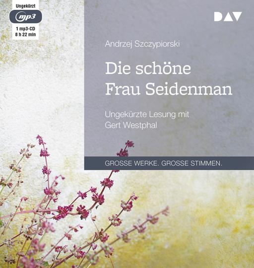 Andrzej Szczypiorski. Die schöne Frau Seidenman. Ungekürzte Lesung. 1 mp3-CD.