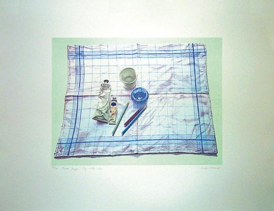 Anne Hausner »Blaue Gruppe«