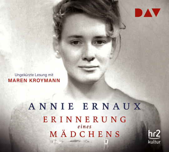 Annie Ernaux. Erinnerung eines Mädchens. 4 CDs.