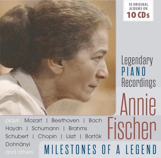 Annie Fischer 10 CDs Meilensteine einer Piano-Legende