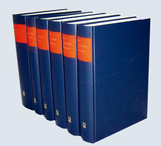 Anthropologie der Naturvölker 6 Bände