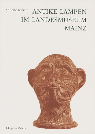 Antike Lampen im Landesmuseum Mainz.