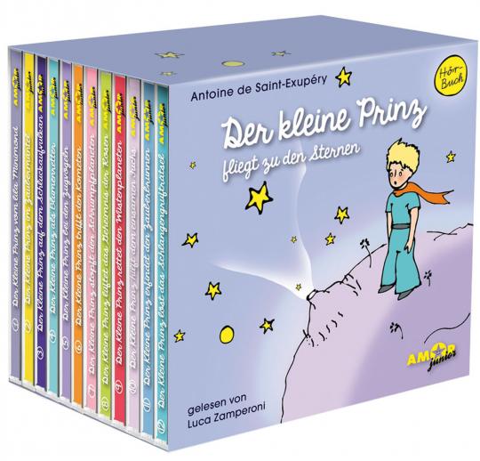 Antoine de Saint-Exupéry. Der kleine Prinz fliegt zu den Sternen. 12 CDs.
