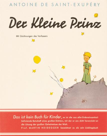 Antoine de Saint-Exupéry. Der kleine Prinz. Faksimile der Erstausgabe in Geschenkbox.