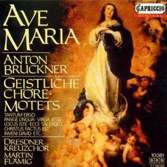 Anton Bruckner. Geistliche Chöre. CD.