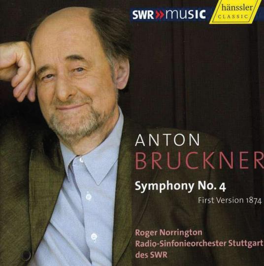 Anton Bruckner. Symphonie Nr. 4. CD.