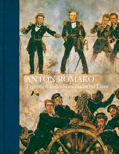 Anton Romako. Tegetthoff in der Seeschlacht bei Lissa.