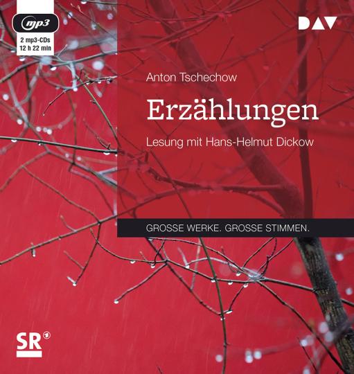 Anton Tschechow. Erzählungen. 2 mp3-CDs.