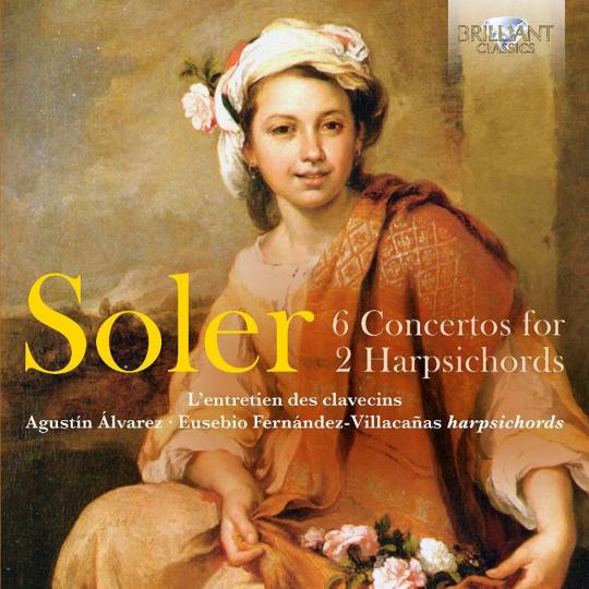 Antonio Soler. Konzerte für 2 Cembali Nr.1-6. CD.