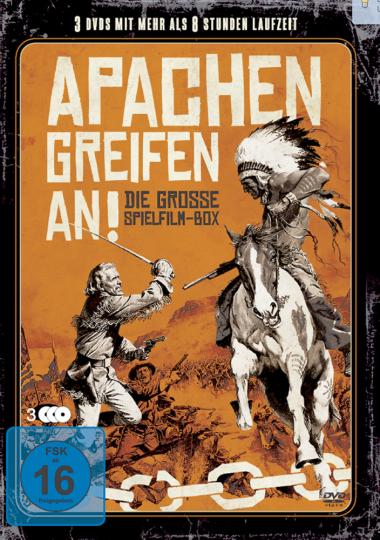 Apachen greifen an! 3 DVDs Die große Spielfilm-Box
