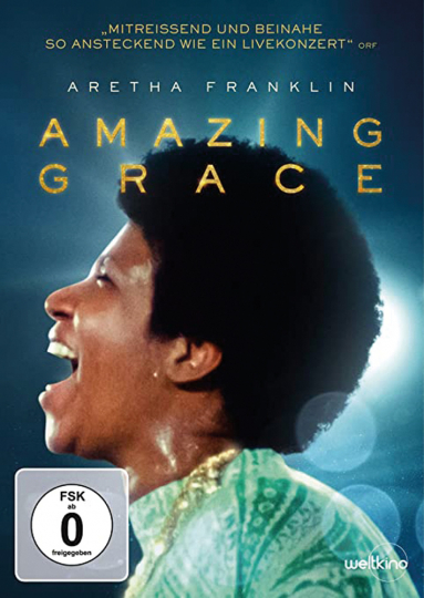 Aretha Franklin: Amazing Grace. DVD.