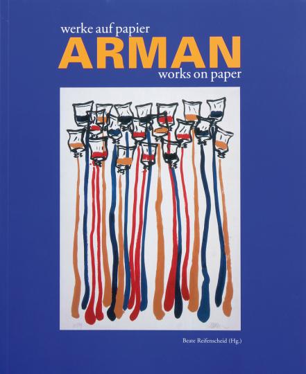 Arman - werke auf papier