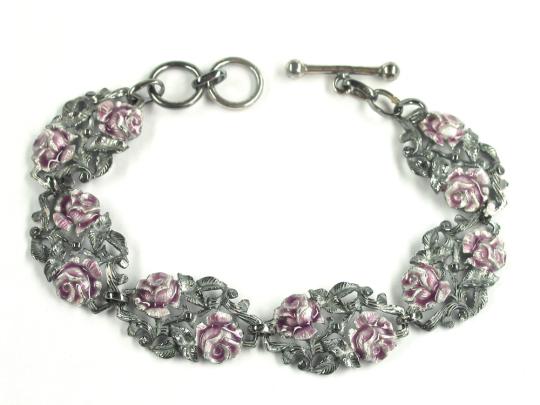 Armband mit Rosen »Dornröschen«