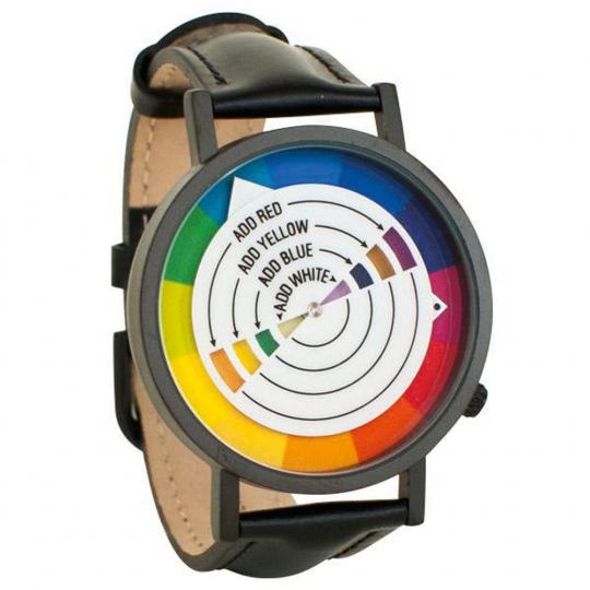 Armbanduhr »Farbenlehre«.