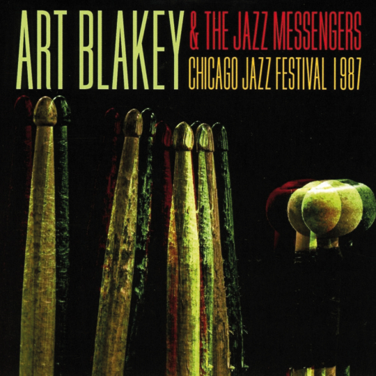 Art Blakey & The Jazz Messengers. Chicago Jazz Festival 1987. 2 CDs.