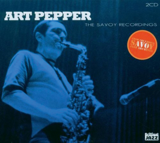 Art Pepper. The Savoy Recordings . 2 CDs.