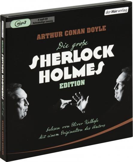 Arthur Conan Doyle. Die große Sherlock-Holmes-Edition. 2 mp3-CDs.