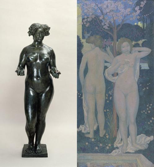 Artistide Maillol und Maurice Denis. Eine Künstlerfreundschaft.