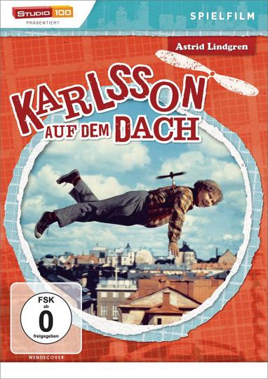 Astrid Lindgren. Karlsson auf dem Dach. DVD.