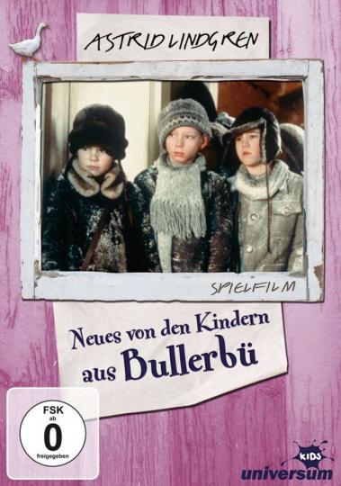 Astrid Lindgren. Wir Kinder aus Bullerbü. Neues von den Kindern als Bullerbü. DVD.