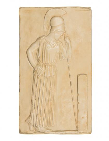Athene-Relief. Griechische Klassik, um 460 v. Chr.