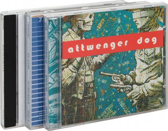 Attwenger. 3 CDs im Paket.