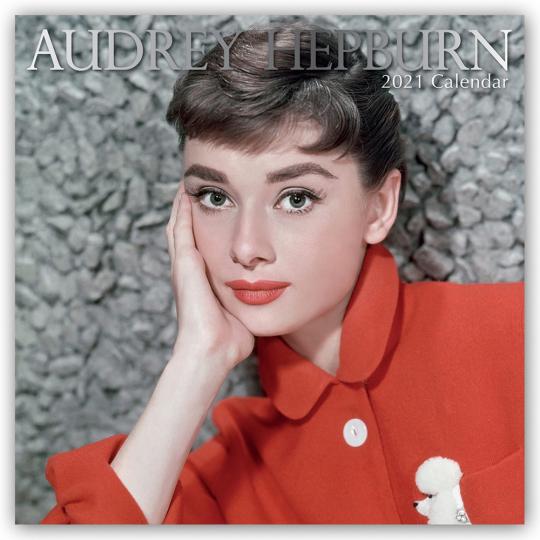 Audrey Hepburn. Wandkalender 2021.