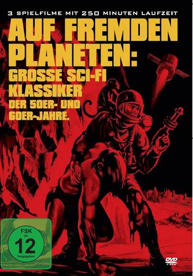 Auf fremden Planeten: Grosse Sci-Fi Klassiker der 50er- und 60er-Jahre. DVD.