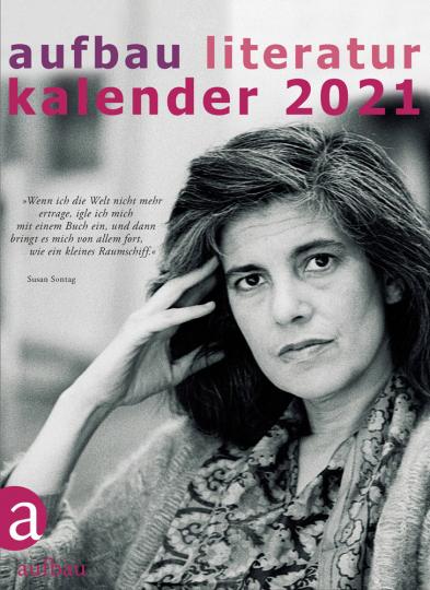 Aufbau Literatur-Kalender 2021. 54. Jahrgang.