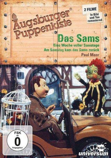 Augsburger Puppenkiste: Das Sams. DVD.