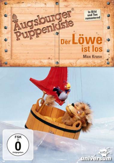 Augsburger Puppenkiste. Der Löwe ist los. DVD.