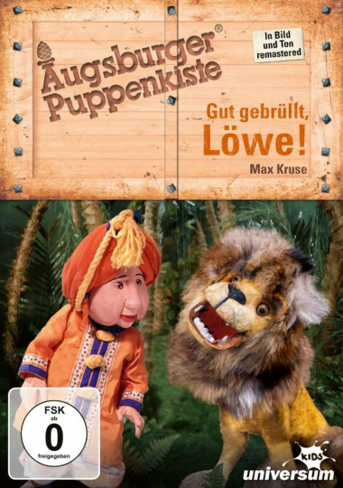 Augsburger Puppenkiste. Gut gebrüllt, Löwe. DVD.