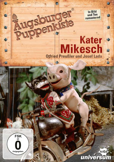 Augsburger Puppenkiste. Kater Mikesch. DVD.