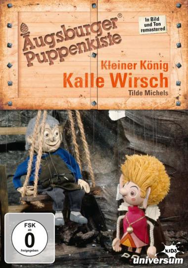 Augsburger Puppenkiste. Kleiner König Kalle Wirsch. DVD.