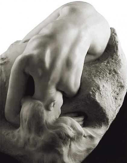 Auguste Rodin. »Danaide«. ARA-Kunstmarmor.