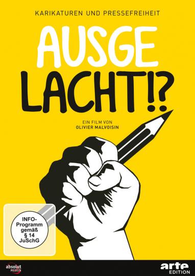 Ausgelacht!? - Karikaturen und Pressefreiheit. DVD.