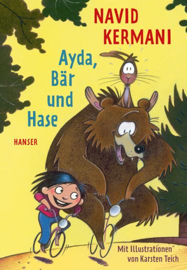 Ayda, Bär und Hase.