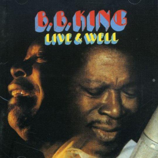 B.B. King. Live & Well. CD.
