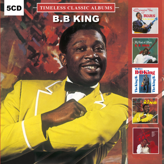 B.B. King. Timeless Classic Albums. 5 CDs.